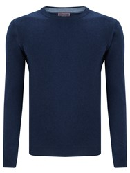 John Lewis Made In Italy Cashmere Crew Neck Jumper Navy