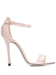 Marc Ellis Glass Sandals Pink
