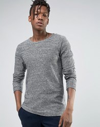Selected Jumper In 100 Cotton Black