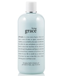 Philosophy Living Grace 3 In 1 Shampoo Shower Gel And Bubble Bath 16 Oz No Color