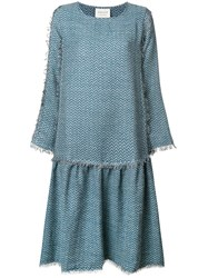 Cecilie Copenhagen Square Dress Blue