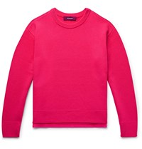 Sies Marjan Jett Wool And Cashmere Blend Sweater Pink