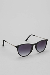 Urban Outfitters Metal Arm Classic Sunglasses Black