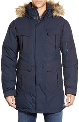 Merrell 'Caribon' Down Waterproof Parka With Faux Fur Trim Ink