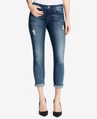 Jessica Simpson Ripped Skinny Jeans Blue