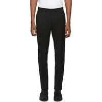 Dsquared2 Black Wool Cady Admiral Trousers