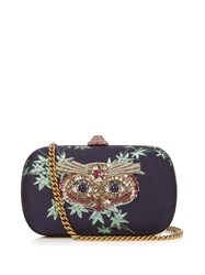 Gucci Broadway Crystal Embellished Clutch Multi