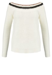 Teddy Smith Peace Jumper Middle White Off White