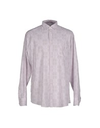 Trussardi Jeans Shirts Shirts Men Deep Purple