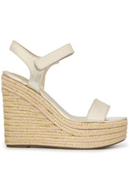 Kendall Kylie Grand Wedge Sandals Gold