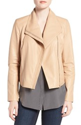 Cole Haan Women's Modern Lambskin Leather Moto Jacket