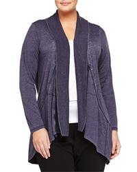 Marc Ny Performance Plus Super Wash Open Front Cardigan Navy