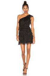 Bcbgmaxazria Tiered Tulle Dress Black