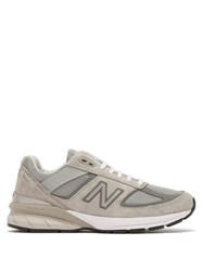 New Balance 990V5 Suede And Mesh Trainers Grey