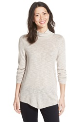 Nic Zoe Everyday Turtleneck Sweater Silvercloud Mix