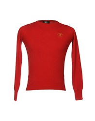 Beverly Hills Polo Club Knitwear Jumpers Red