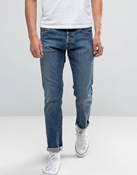 Denim And Supply Ralph Lauren Mid Wash Jeans In Slim Fit Blue