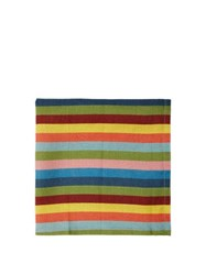 Cabana Magazine Tingere Set Of Four Striped Linen Napkins Multi