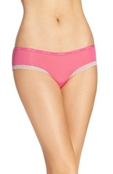 Calvin Klein Women's 'Bottoms Up' Hipster Briefs Viva Pink Wonder Lace