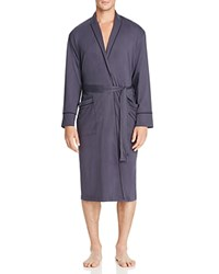 Daniel Buchler Peruvian Pima Cotton Robe Ink