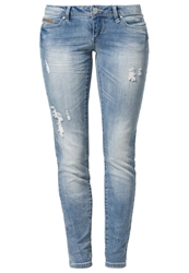 Only Coral Slim Fit Jeans Light Blue Denim