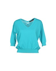 Guess By Marciano Sweaters Turquoise