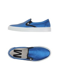 Mauro Grifoni Footwear Low Tops And Trainers Women Blue