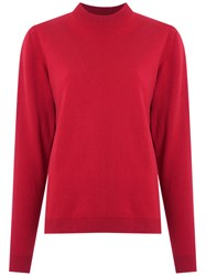 Egrey Wool And Cashmere Jumper Women Cashmere Wool M Red