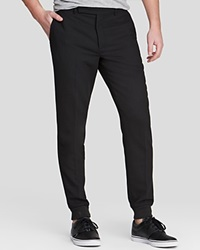 Carven Wool Crepe Carrot Pants Slim Fit