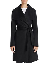 T Tahari Wrap Coat Black