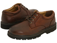 Dockers Shelter Dark Tan Full Grain Leather Men's Lace Up Casual Shoes