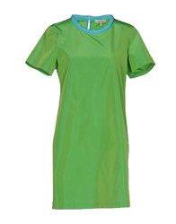 Chlotilde Short Dresses Acid Green