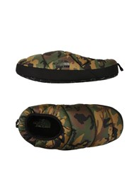 The North Face Footwear Slippers Military Green