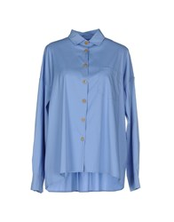 Douuod Shirts Shirts Women Sky Blue