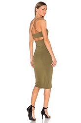 Alexander Wang Strappy Cami Tank Dress Green