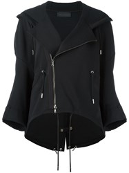 Diesel Black Gold Notched Lapel Hoodie Black