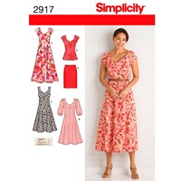 Simplicity 'S Dress Sewing Pattern 2917