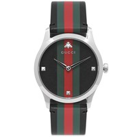 Gucci G Timeless Contemporary Watch Black