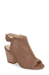 Isola Women's 'Lora' Perforated Open Toe Bootie Sandal