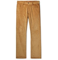 Missoni Cotton Corduroy Trousers Brown