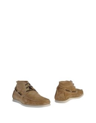 Gold Brothers Ankle Boots Beige