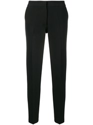 Roberto Collina Tapered Tailored Trousers Black