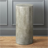 Cb2 Column Large Grey Pedestal