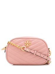 Tory Burch Kira Chevron Camera Bag Pink