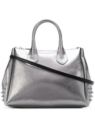 Gum Metallic Studded Tote Bag