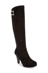 Paul Green 'Anne' Knee High Platform Boot Women Black