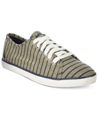 Nautica Women's Lanyard Lace Up Sneakers Women's Shoes Dark Moss
