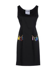 Moschino Couture Dresses Short Dresses Women Black