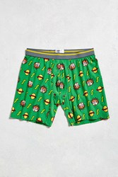 Urban Outfitters Rugrats Chuckie Boxer Brief Bright Green