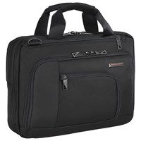 Briggs And Riley Verb Contact 13 Laptop Briefcase Black